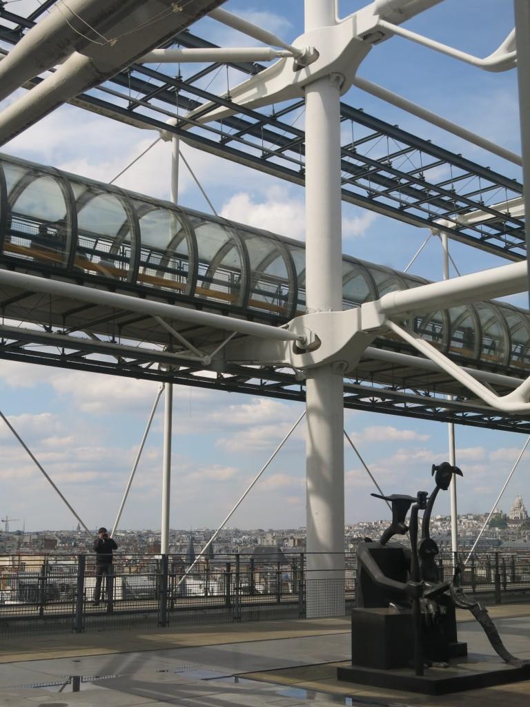Fig 1, gerberette, Centre Georges Pompidou, Paris, © author